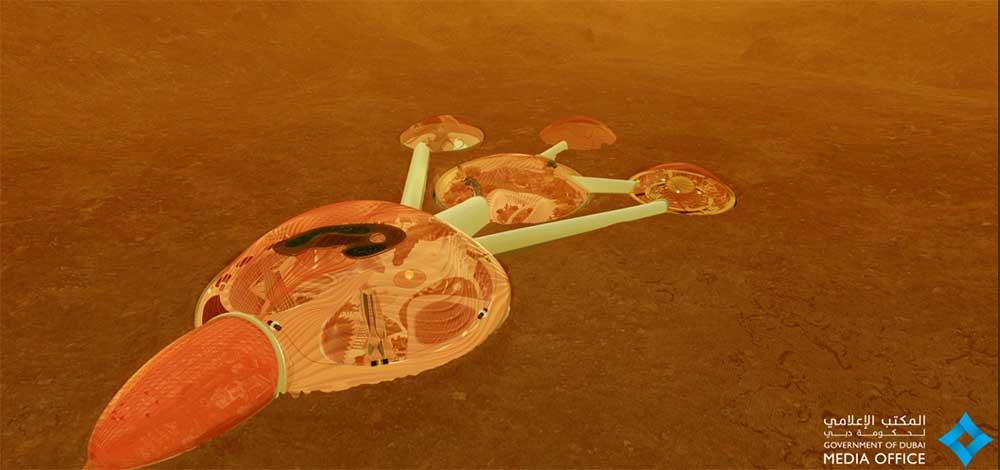 Mars 2117 UAE space programme Mars Science City
