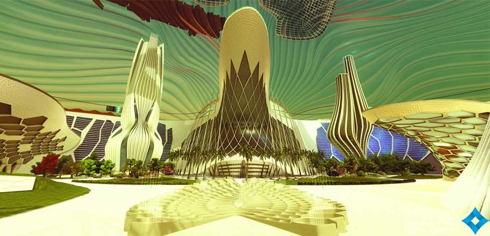 Mars 2117 Priject UAE space programme Mars Science City