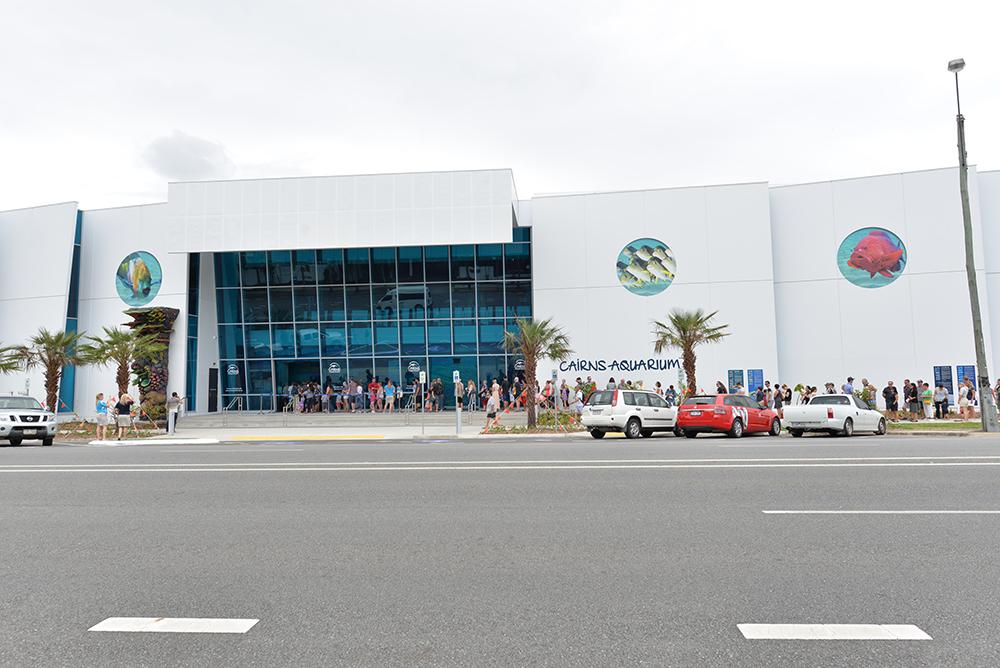 Cairns Aquarium outside building