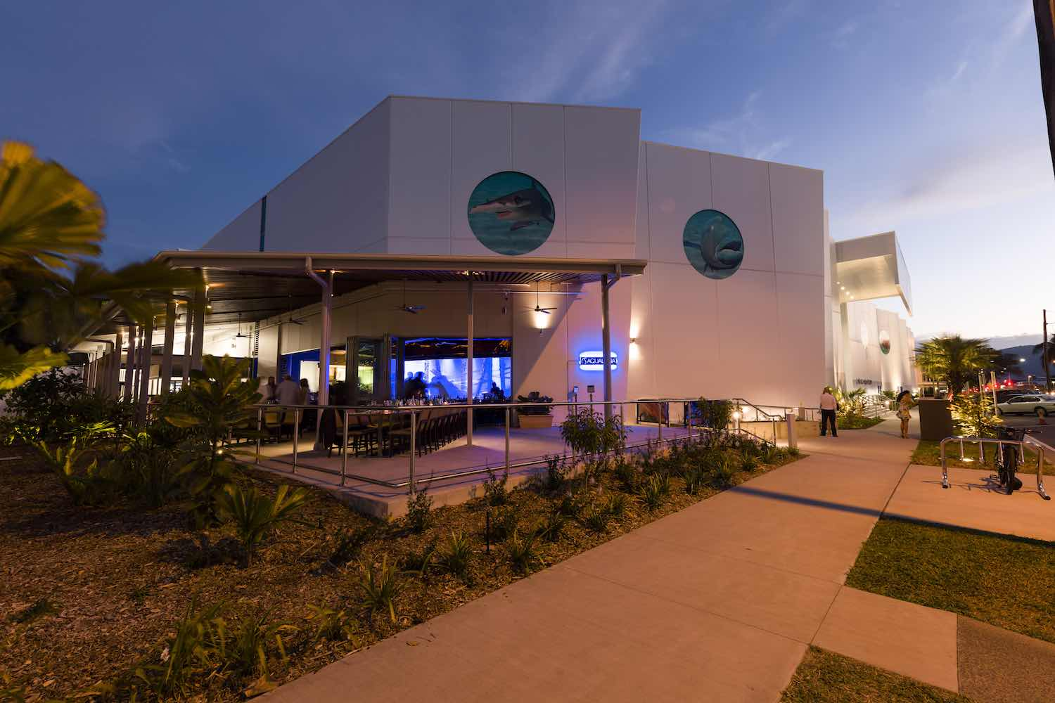 cairns aquarium queensland building exterior