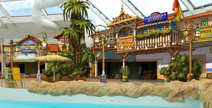Jora Vision brings Caribbean charisma to Walibi Belgium's Aqualibi waterpark transformation