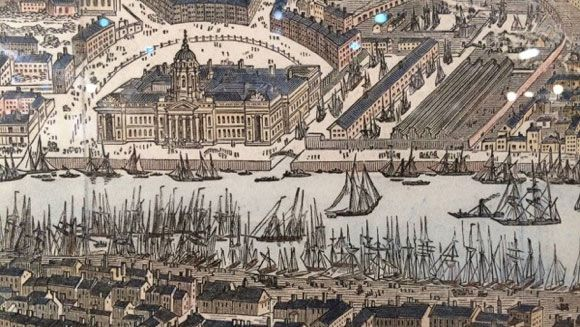 dublin docks 1820s