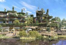 Euro Disney and Center Parcs celebrate opening of eco-tourism destination Villages Nature Paris