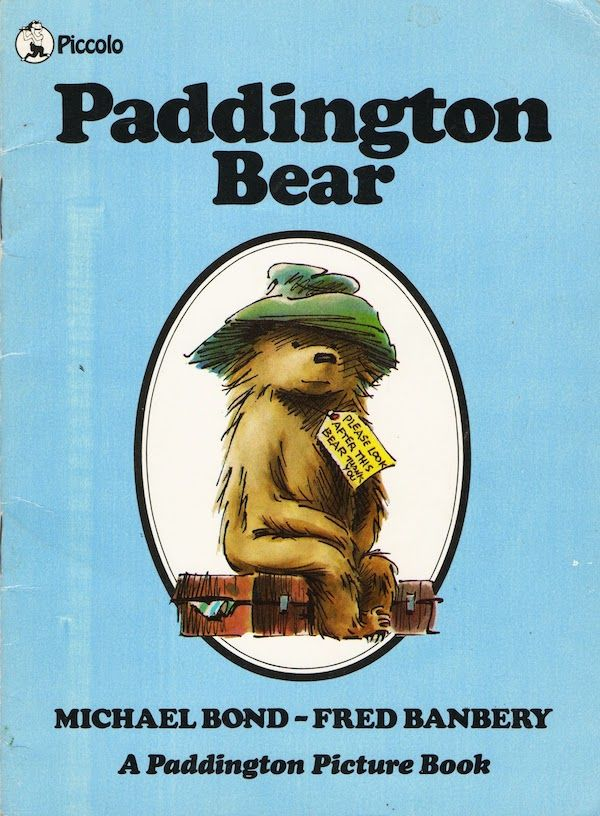 michael bond paddington bear book cover europa-park