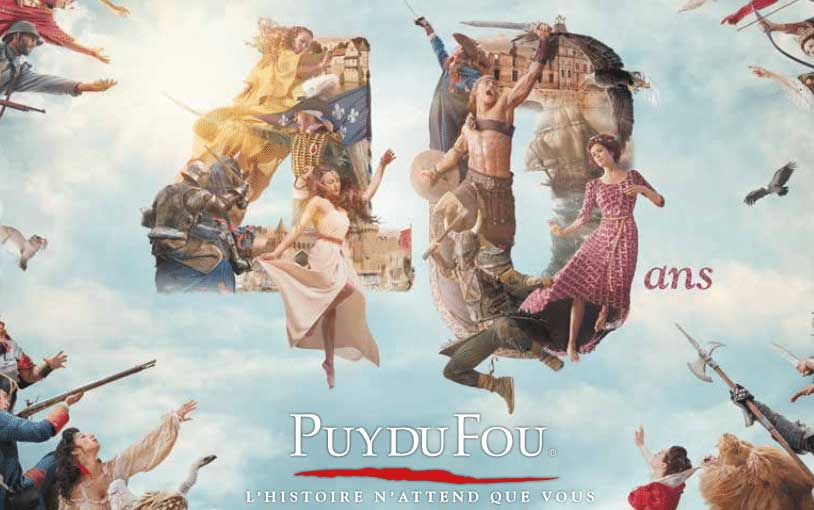 Puy Du Fou 40 anniversary