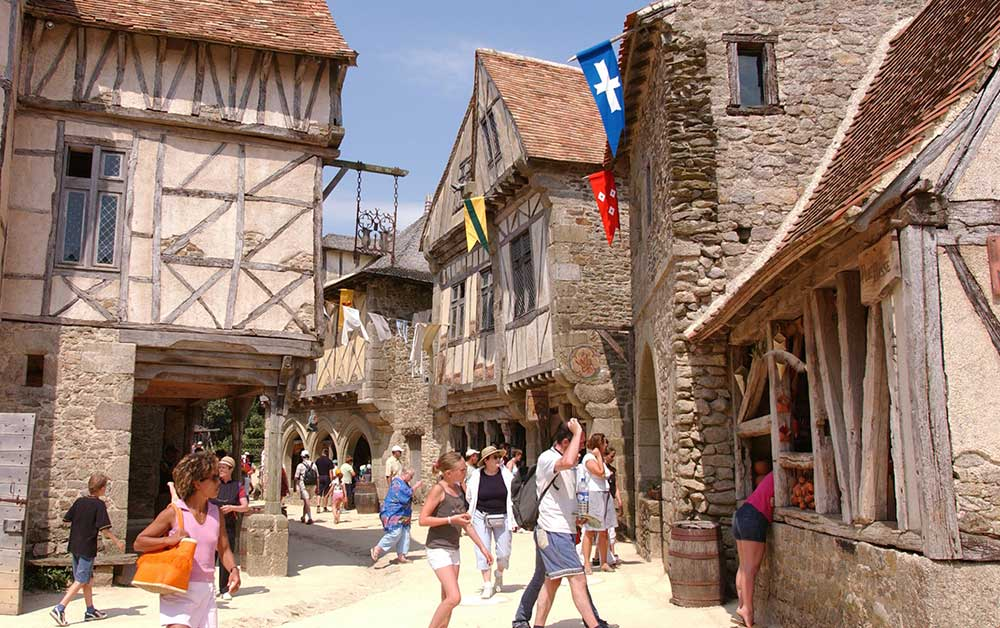 Puy Du Fou village xvii