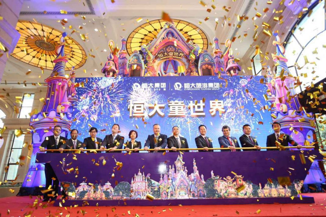 IDEATTACK to create China's first two 'game-changing' Evergrande Fairytale Theme Parks