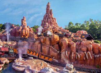 rollercoaster can help pass kidney stones l- big thundder mountain railway disney magic kingdom
