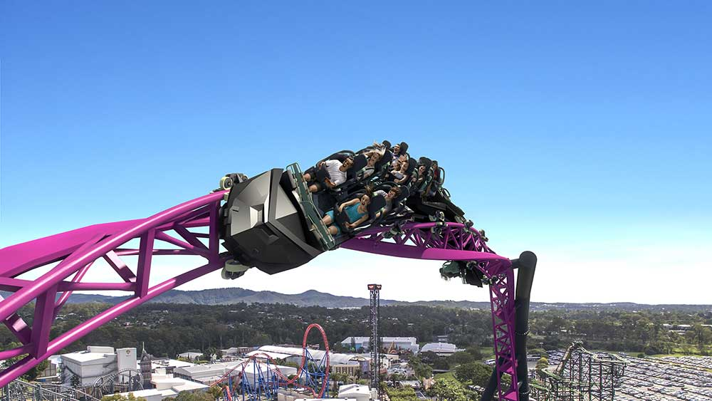 Magic Memories provide on-ride photo experience for DC Rivals HyperCoaster at Warner Bros. Movie World