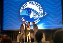 Franceen Gonzales whitewater leading edge award