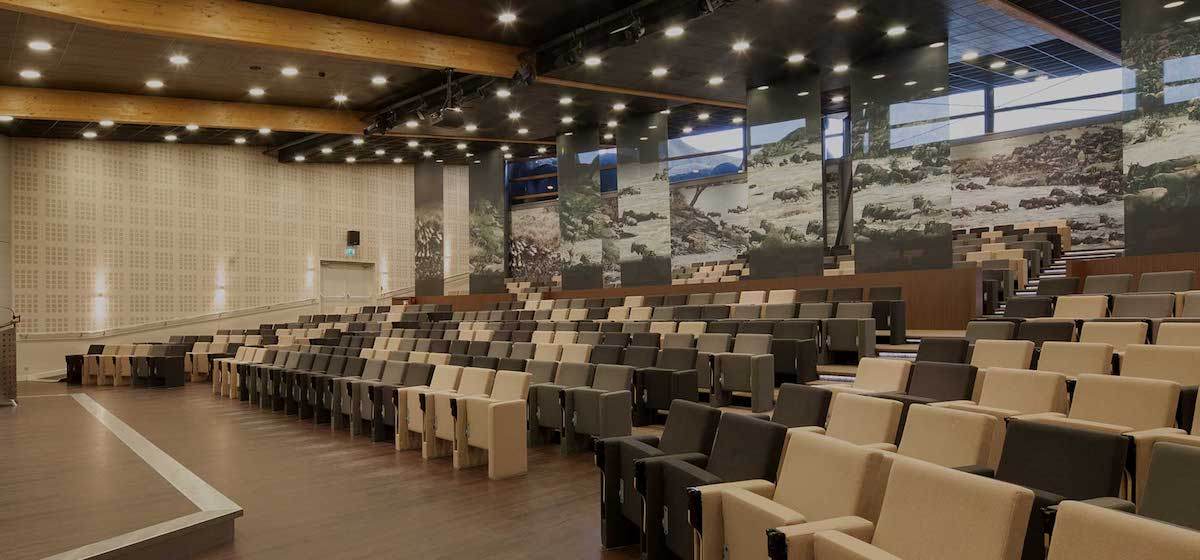 European Union of Aquarium Curators (EUAC) auditorium