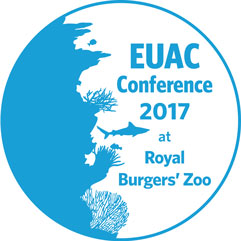 European Union of Aquarium Curators (EUAC) logo burgers zoo 2017