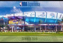NBA Exeperience at Walt Disney World Resort Disney Springs