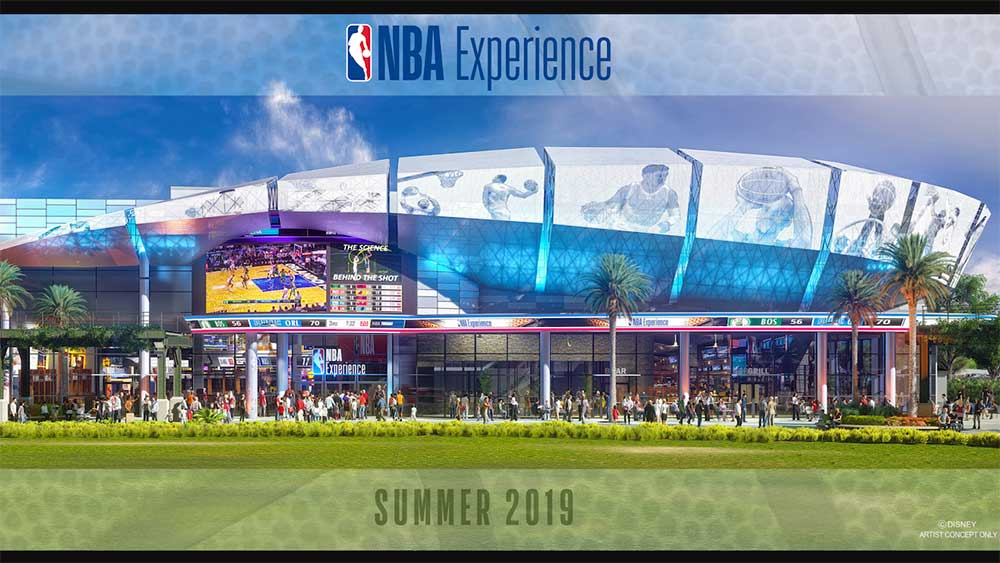 NBA Exeperience at Walt Disney World Resort Disney Springs