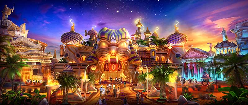 IDEATTACK Evergrance Fairytale theme park kids Ancient States