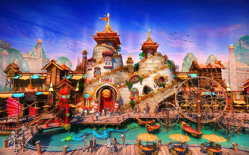 IDEATTACK Evergrance Fairytale theme park Brilliant China Zone