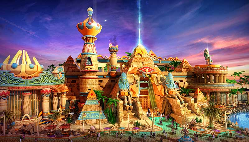 IDEATTACK Evergrance Fairytale theme park Ancient States
