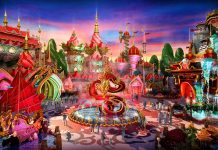 DIEATTACK designs Evergrande Fairytale World theme park Brilliant China zone dragon