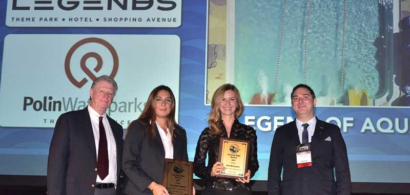 polin and land of legends receive WWA leading Edge award for waterpark