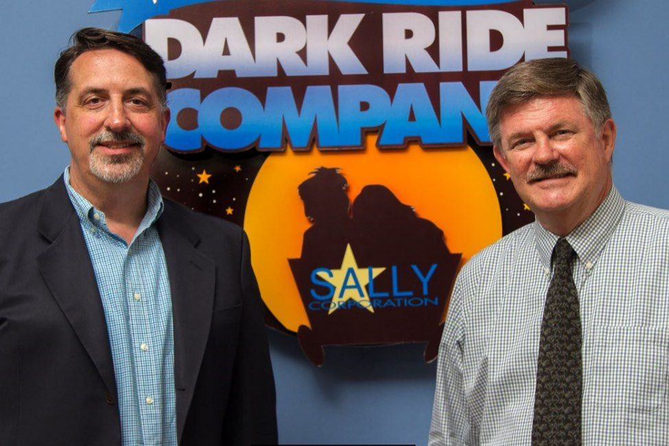 david bishop with john wood at sally corporation