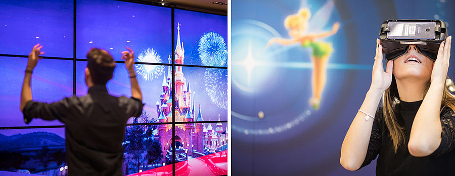 Disneyland Paris and Orange unveil immersive experiences at Orange Opera Boutique
