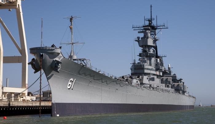 Guru Battleship IOWA AR app win Historic Preservation Award