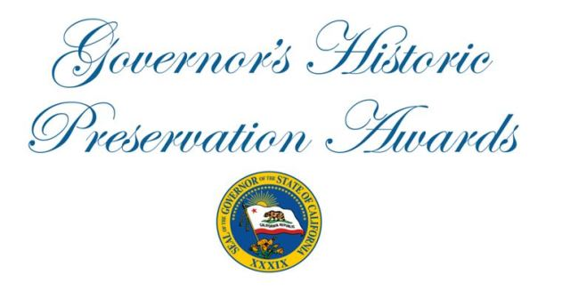 Governor's Historic preservation Awards logo