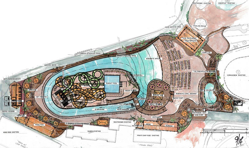 canobie lake park wins approval for new water attraction blooloop