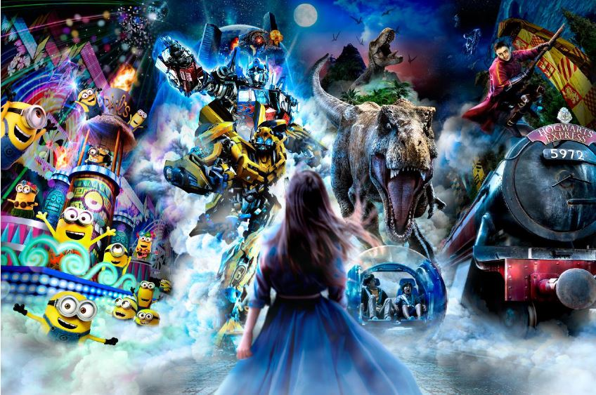 Universal Studios Japan unveils 'world's first' next-gen nighttime parade for 2018