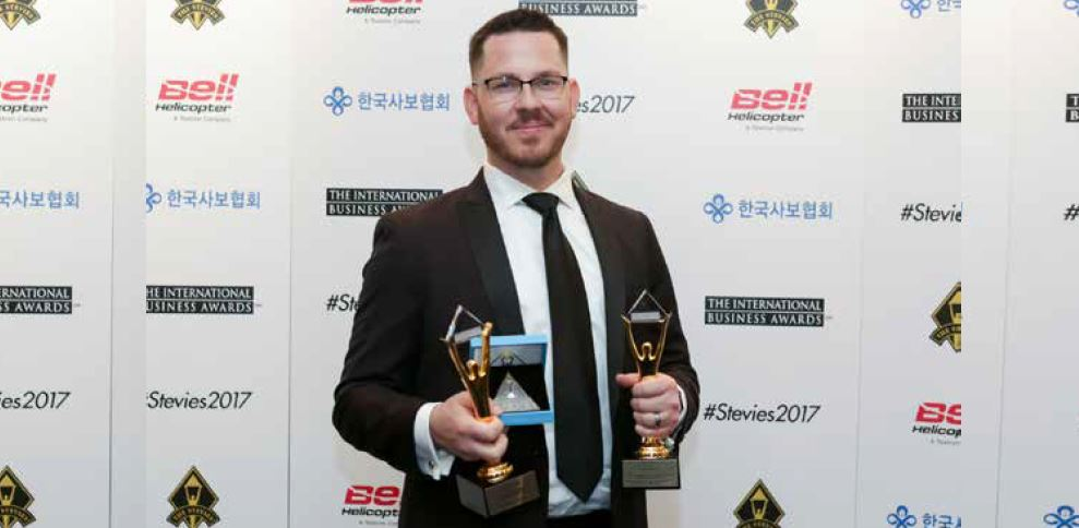 Laservision scoops three honours at the prestigious International Business Awards