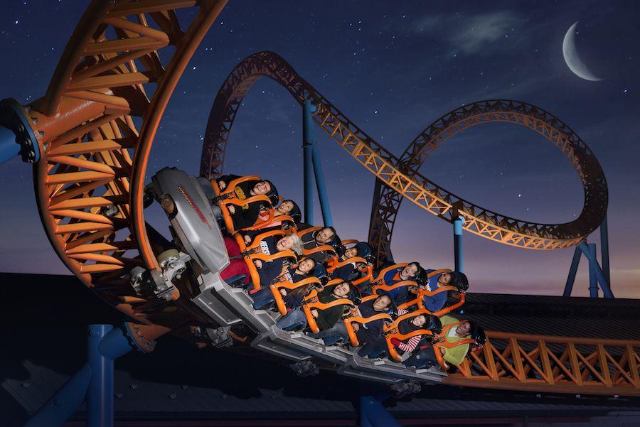 hersheypark at hershey Fahrenheit coaster at night jpg (1)