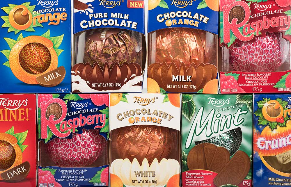 terrys chocolate orange collection