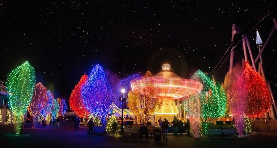 Hersheypark's Christmas Candylane season starts this year on November 10