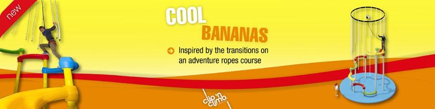 Cool Bananas: Clip 'n Climb announces Tarzan-style hanging rope adventure
