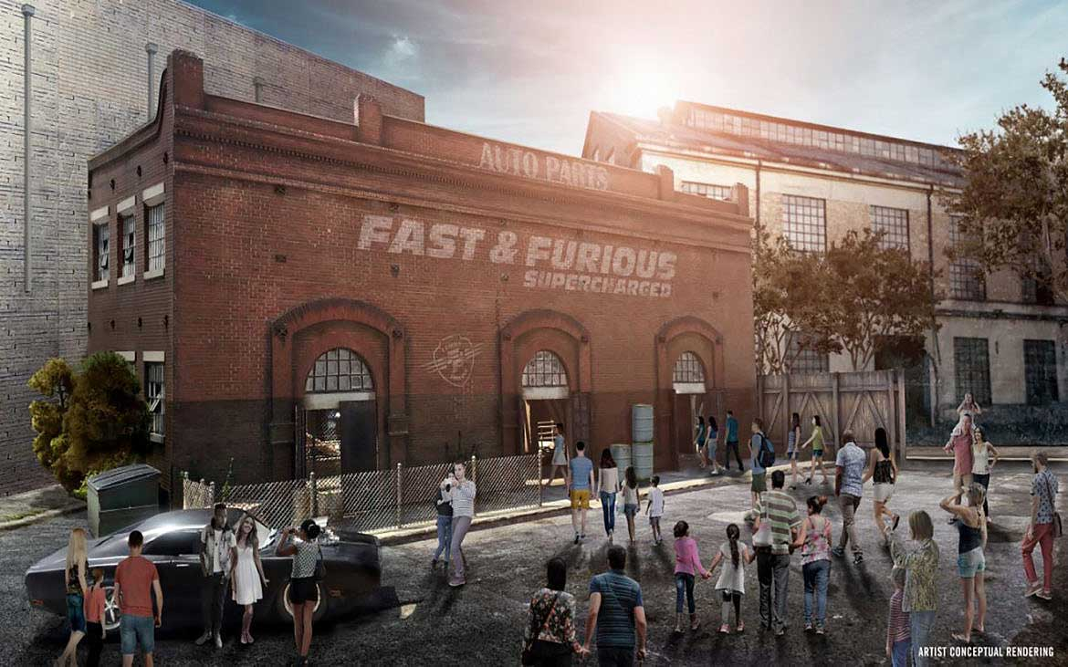 Universal releases new details on Fast & Furious attraction