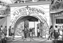St. Louis Aquarium at union station entrance a (1)