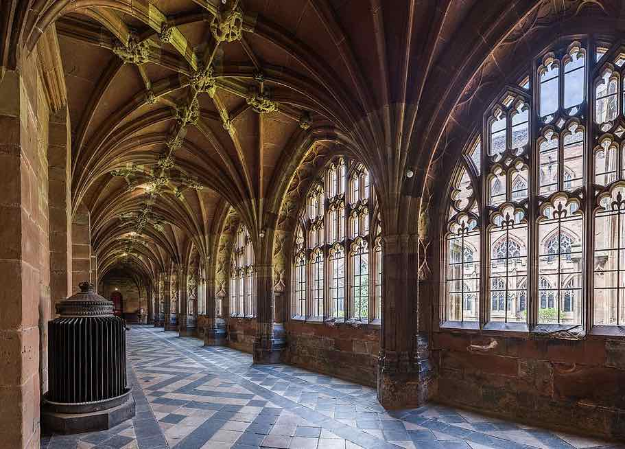 Worcester Cathedral Cloister, Worcester churches conservation trust