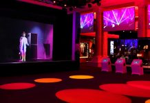 digital projection create Boy George hologram show at Britihs Music Experience