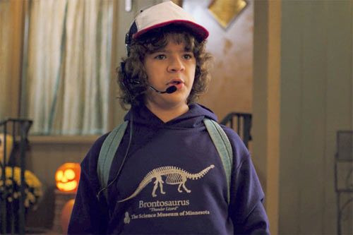 'Stranger Things' Fans Crash Museum Website to Buy Dustin's Brontosaurus Hoodie