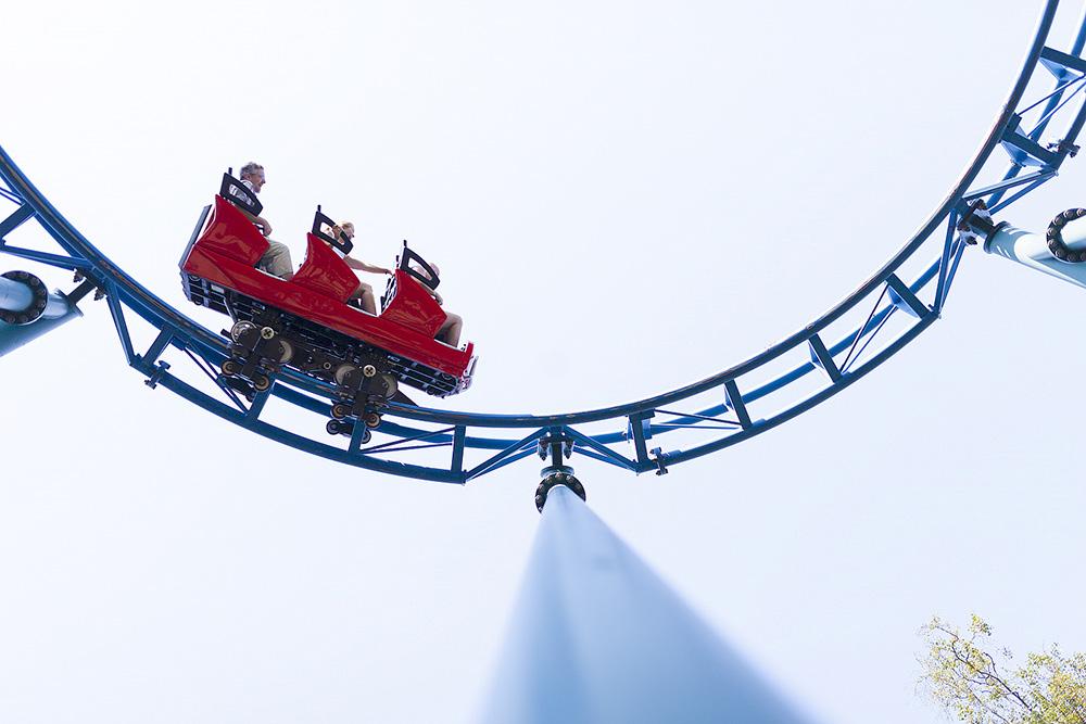 tulireki Linnanmäki rollercoaster