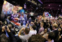 Sally corp IAAPA media event