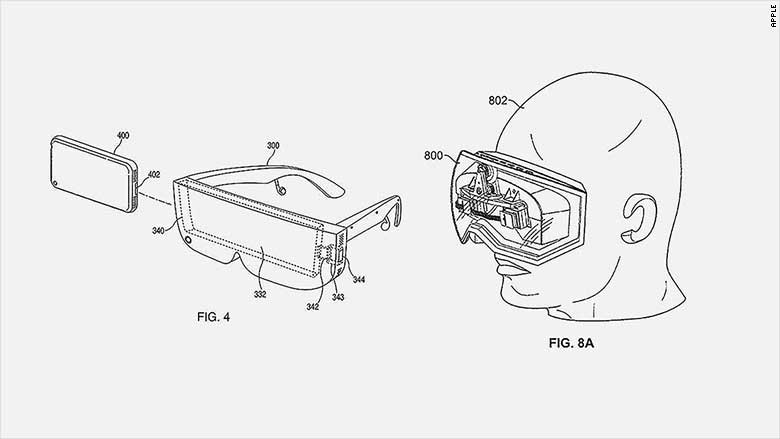 apple vr ar patent
