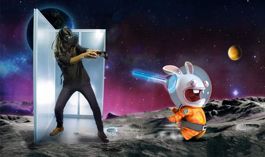 Triotech unveils virtual reality (VR) attraction featuring Ubisoft's Rabbids and Assassin's Creed