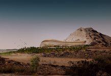 Oman botanical gardens plans arup