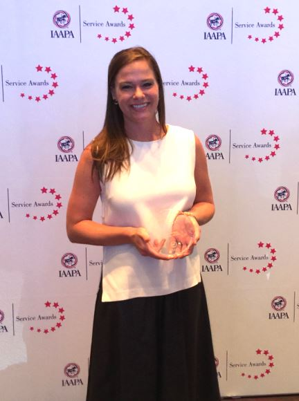 IAAPA names JRA's Chloe Hausfeld 'Young Professional of the Year'