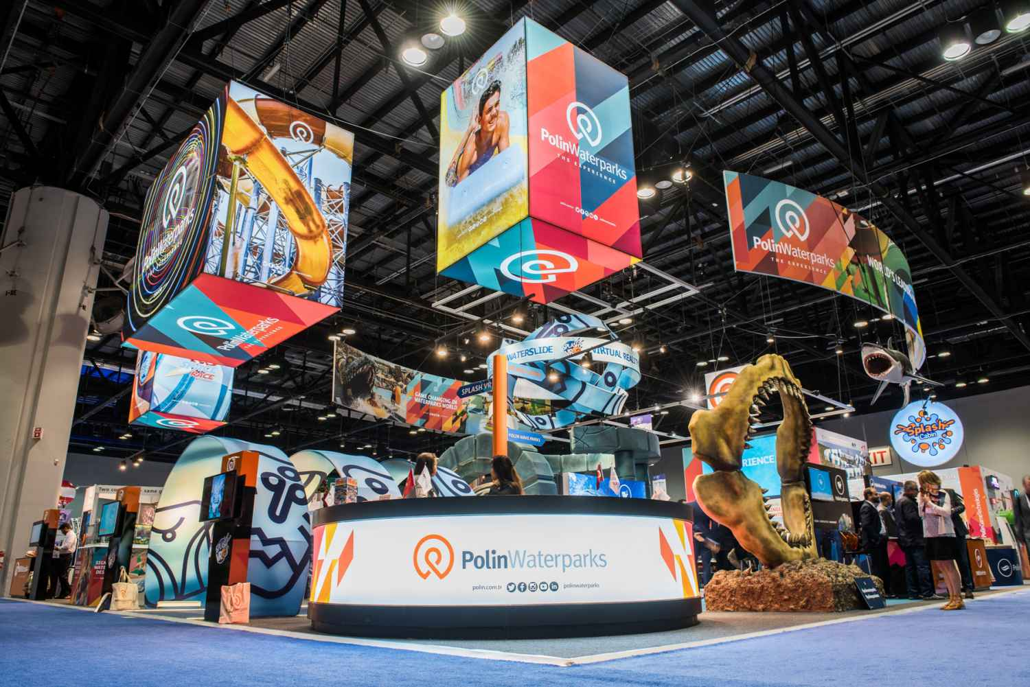 Polin makes a splash at IAAPA Attractions Expo with 4 Brass Ring Awards