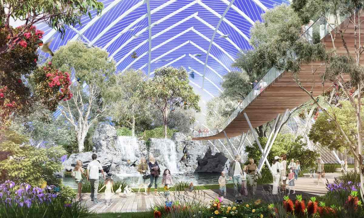 Aviary cleland wildlife park adelaide Lang Kwai Fong Group master plan (1)