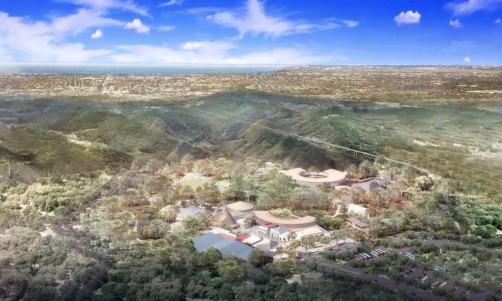 cleland wildlife park rendering adelaide Lang Kwai Fong Group Aerial View.jpg