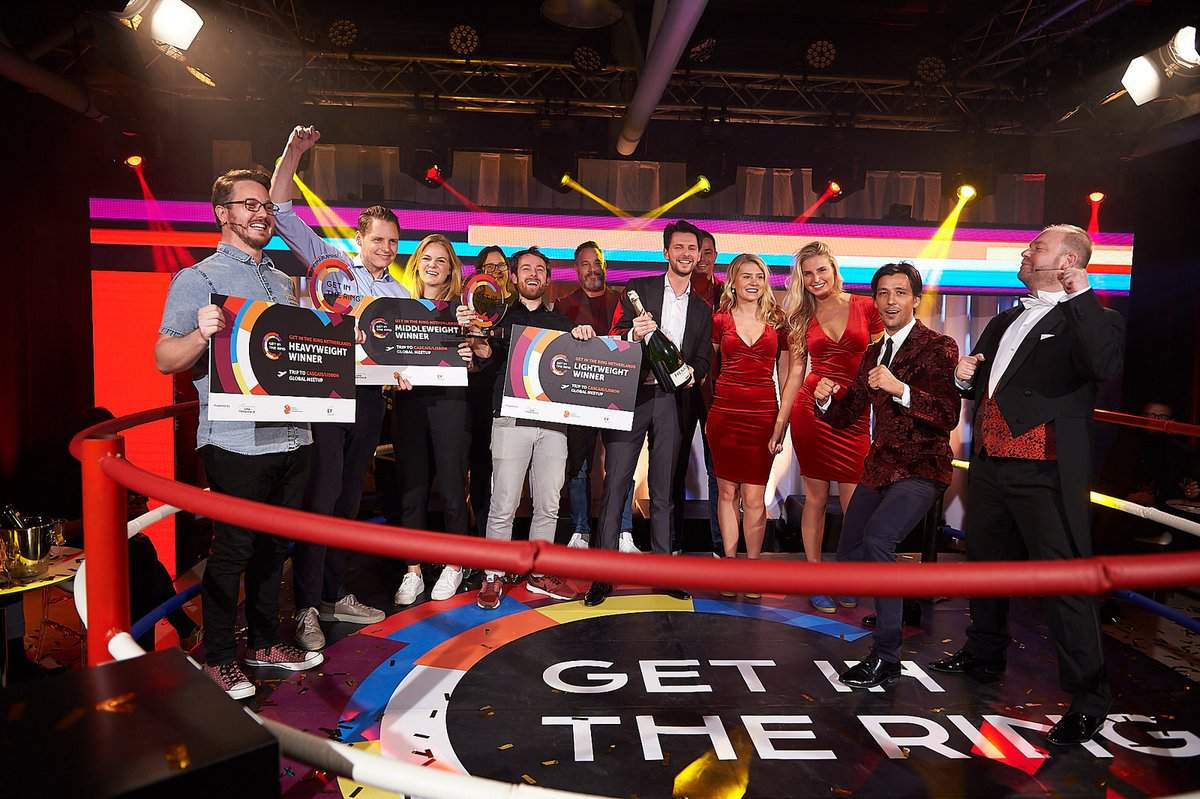 A.I. start-up Convious named Heavyweight winner at Get in the Ring The Netherlands