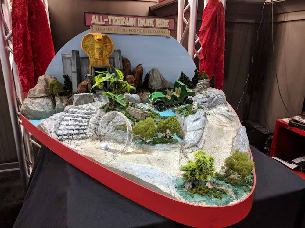 dynamic attractions all terrain dark ride model iae17